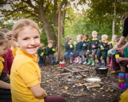 photography for schools - forest school - Warwickshire